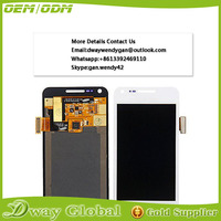 China supplier touch screen panel digitizer assembly for samsung galaxy s advance i9070 lcd display