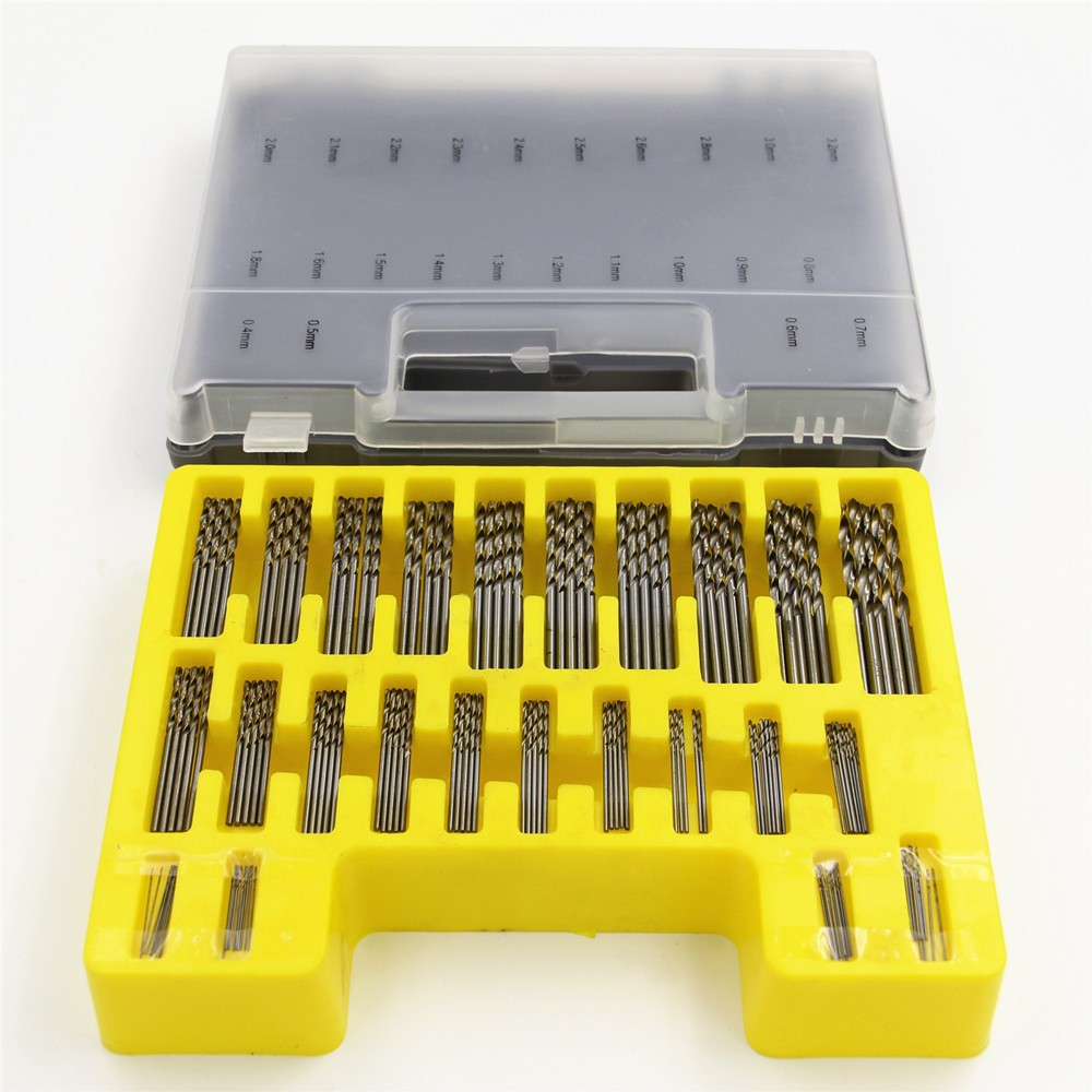 150pcs/set 0.4mm-3.2mm Micro Twist <strong>Drills</strong> Bit Set Rotary Tool Grinder Accessory metal <strong>drill</strong> bit set
