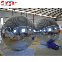 New party decoration large mirror ball,PVC plastic hanging mirror ball, inflatable mirror ball