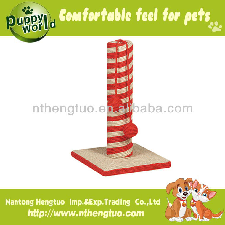 beautiful sharped cat scratcher for home