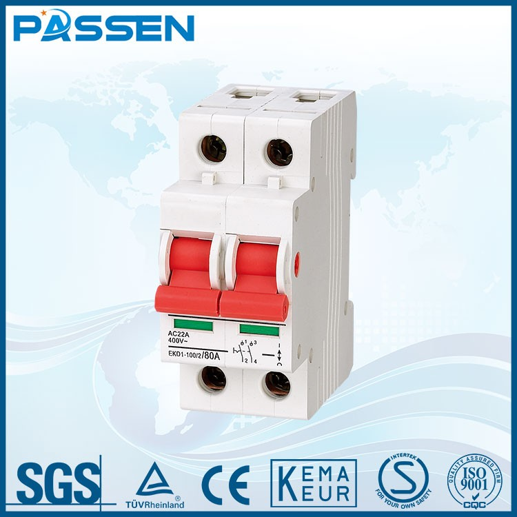 PASSEN Cheap price good quality voltage protection mcb circuit breaker
