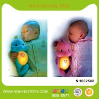 Cartoon baby toy with light