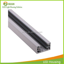 Lamp connector pins 3 phases x cross track connector universal 4 wire led track lighting rail connector