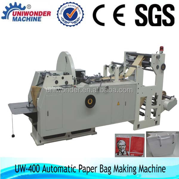 high quality best manufacturer paper bag machine
