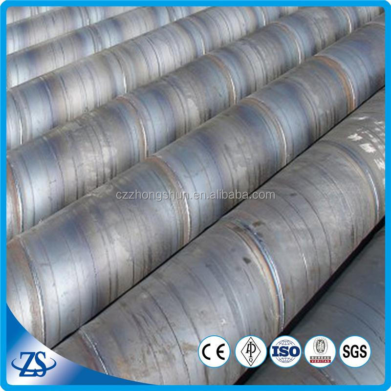 large diameter 42 inch a671 gr.60 weld sprial steel pipe for drinking water