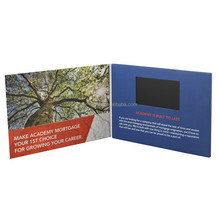 Cool promotion advertising video card digital video brochure