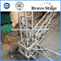 New Promotion Black Truss Speaker Truss Stand Concert Scaffolding Truss System