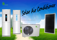 Cabinet solar system hybrid air conditioner 18000btu for home use