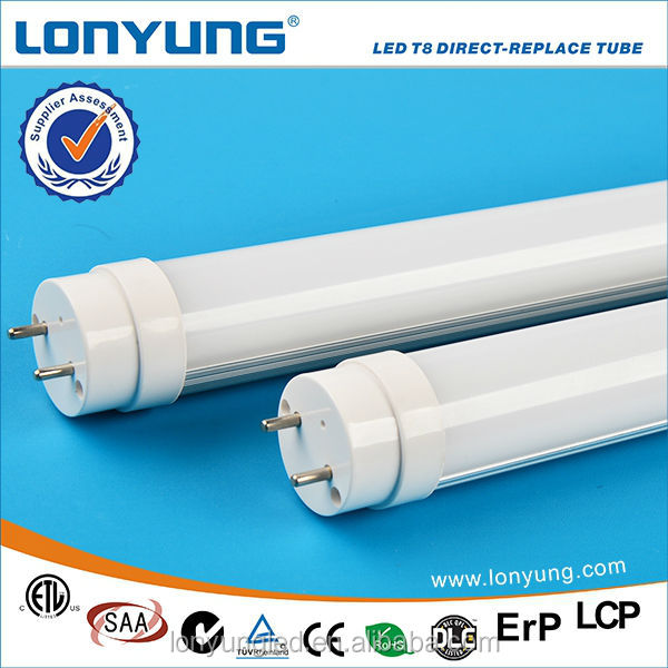 High brightness g13 base 1200mm 18w t8 led tube direct-replace ballast compatible t8 led tube light