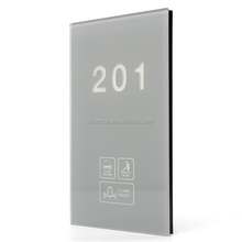 Intelligent Touch Screen Hotel DND Doorbell with multi-functions