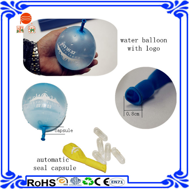 Manufacture patent High quaility water balloons self sealing with capsule