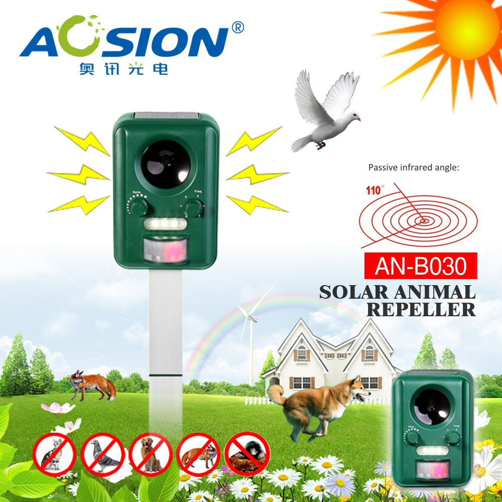 Aosion hot selling solar pig repeller AN-B030