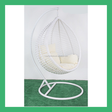NO.17 2016 outdoor furniture PE wicker rattan cheap hanging egg chair