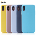 Ultra slim & ultra thin soft frosted phone case for iphone 8 case matte finish tpu case