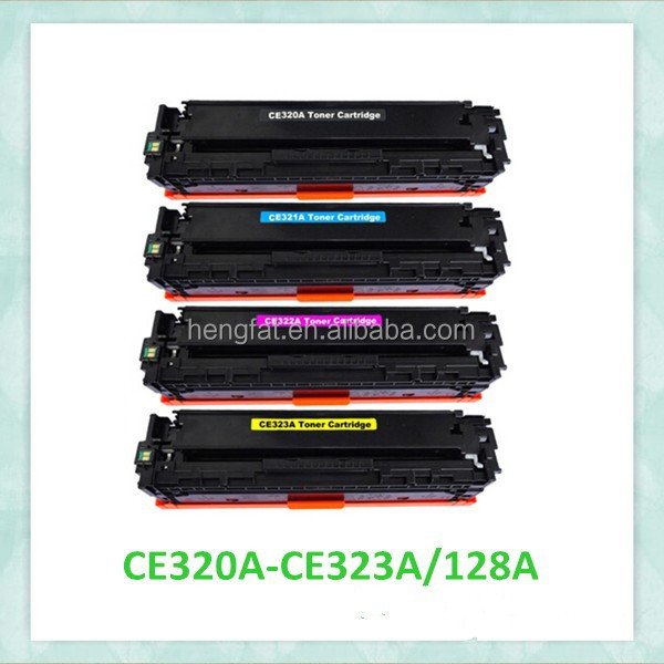 For HP 320A , Compatible hp 320a color toner cartridge , 8 years gold supplier quality guarantee.