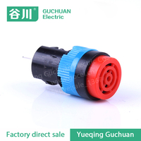 high quality Customized Plastic Push Button Switch Plastic Red color Indicator LED signal light