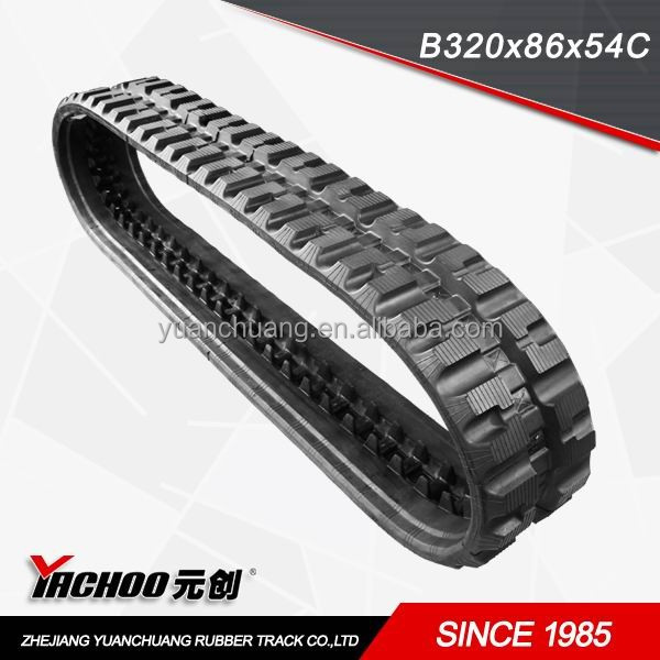 rubber track/rubber crawler/rubber pads manufacturer since 1985