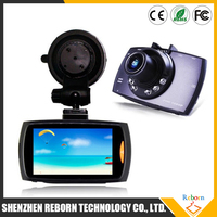 Night Vision car dvr with 6 LED 170 degree Camera Recorder detector
