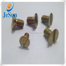Direct Sales Brass Slotted Countersunk Head Machine Screw