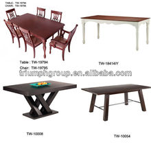 German style dining table furniture