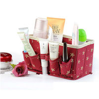 SW cosmetic storage box with side pockets nice design storage box perfume storage box