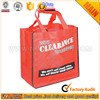 High Quality Non-woven cloth Fabric Shopping grocery bag