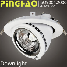 High power waterproof CE 15 watt recessed led downlight fitting