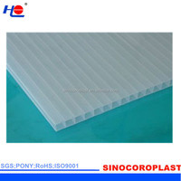 waterproof and easy to clean correx plastic sheet for floor protection