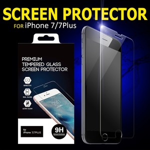 9H Explosion Proof High Clear Tempered Glass Screen Protector for iphone5 6 6plus 7 7plus