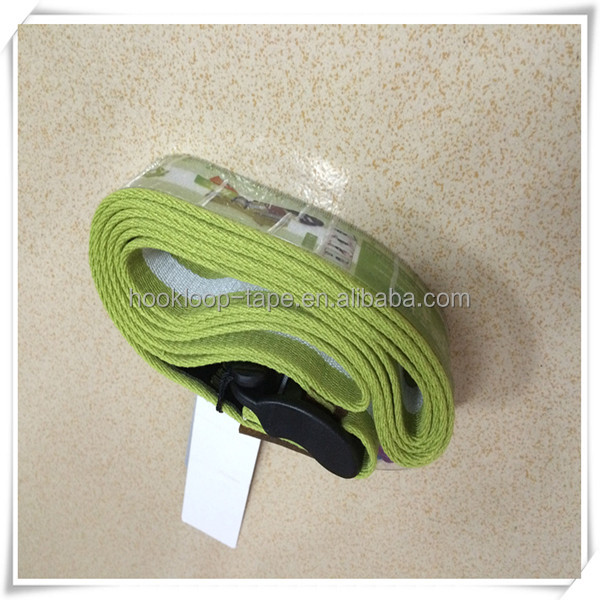 High quality and 100% cotton yoga stretch belt