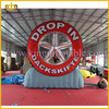 4m Customized Large Inflatable Tyre Model For Sale