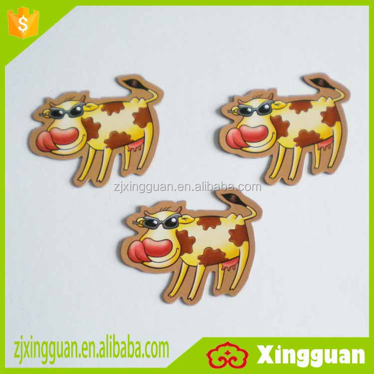 XG2008 best selling product shanghai souvenir paper country frige magnets