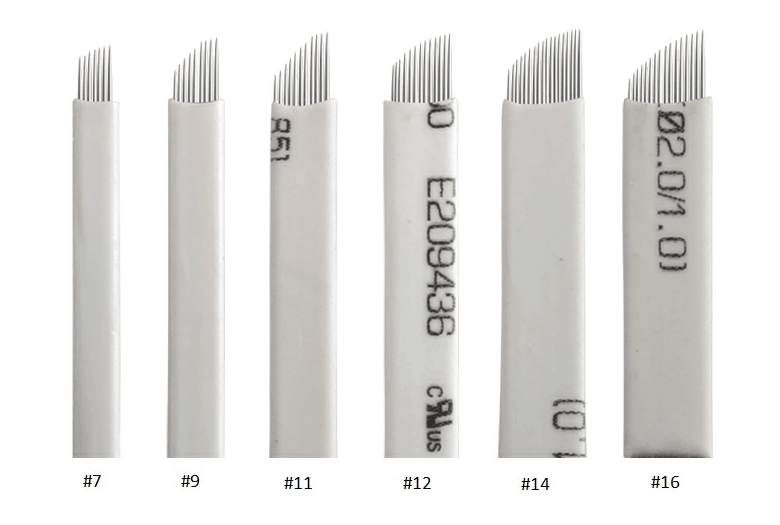 3D Embroidery Microblading Needles, Korea Popular Flexible Microblading Blades