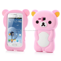 2015 Cute silicone lighter phone case