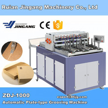 ZDJ-1000 Automatic V Cut Scoring Machine for rigid gift box bending or folding