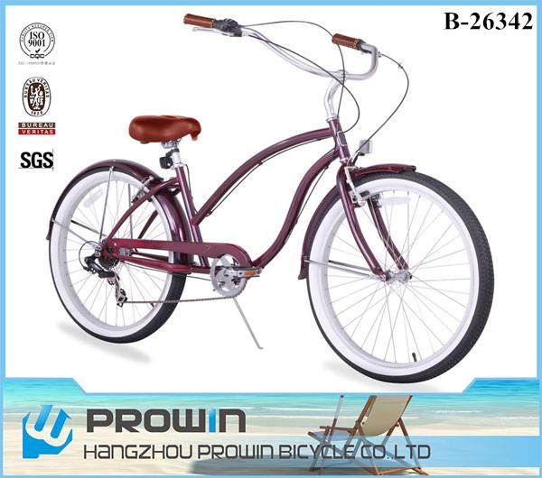 2016 Oem 7 Speed 26 Quot Beach Cruiser Bike Cheap Beach Cruiser Bicycle Ladies Bicycles Bikes For