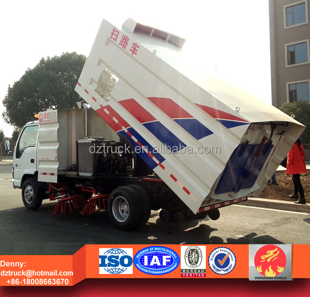 5cbm small road sweeper truck