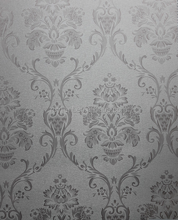 flowers wall fabric /wallpaper for dinning room