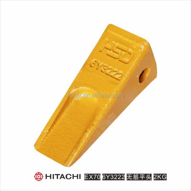 EX70 forged Hitachi mini excavator bucket teeth