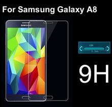 2.5D 9H 0.3mm Screen Protector Tempered Glass For SamsungGalaxy A8 Anti Broken Original Protective Film for Galaxy A8 mobile