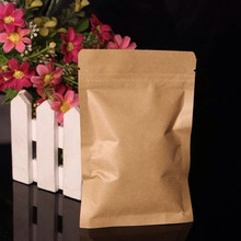 China manufacturer hot sale brown kraft paper bag for tea packaging