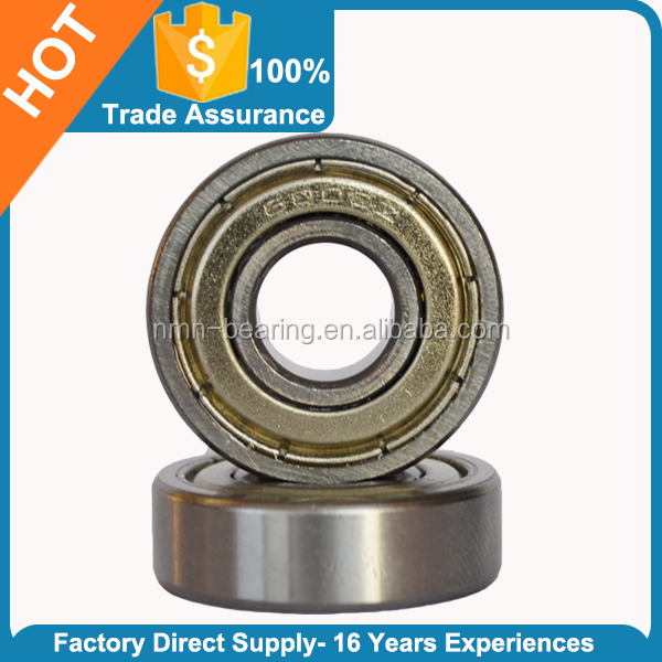Alibaba recommend miniature deep groove ball bearing for ceiling fan 6201ZZ ball bearing sizes ball bearing