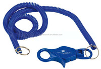 Plastic Lobster Key Chain Coiled Plastic Spiral Bungee Cord