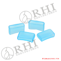 Soft Vinyl Ligh Blue 5x20mm Fuse