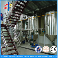 waste oil / used cooking oil refinery equipment mobile oil refinery