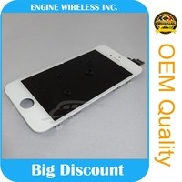 wholesale for iphone 5 screen digitizer assembly for iphone 5 lcd touch screen