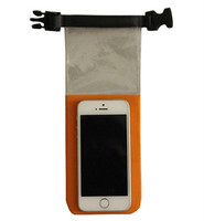 Qi-an popular waterproof phone dry bag for all smartphone