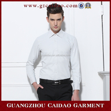 2015 lates China supplier of men shirts long sleeve 100% cotton slim shirt