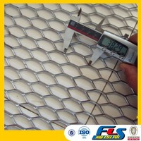 Aluminum Expanded Metal For Car Grill(ISO9001 Certificate)