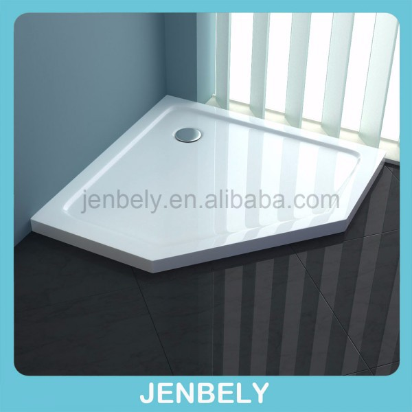 shower Enclosure Tray Walk In Cubicle White Rectangle Square tray